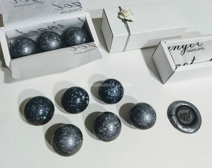 Mini esferas x 3 50 gramos