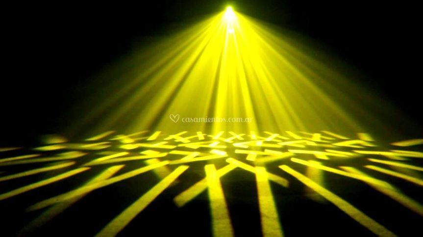 Beams amarillos