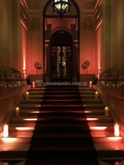 Entrada al Palacio.