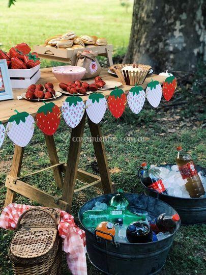 Deco gráfica mesas dulces