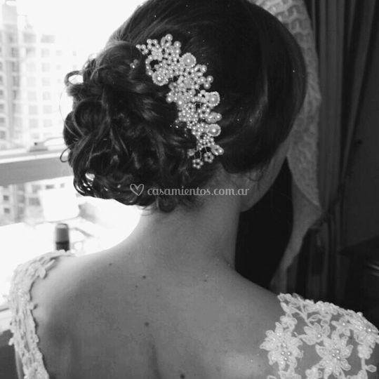 Peinado novia Anto