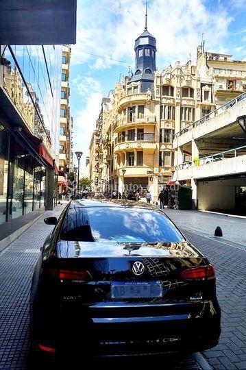 VW Vento negro