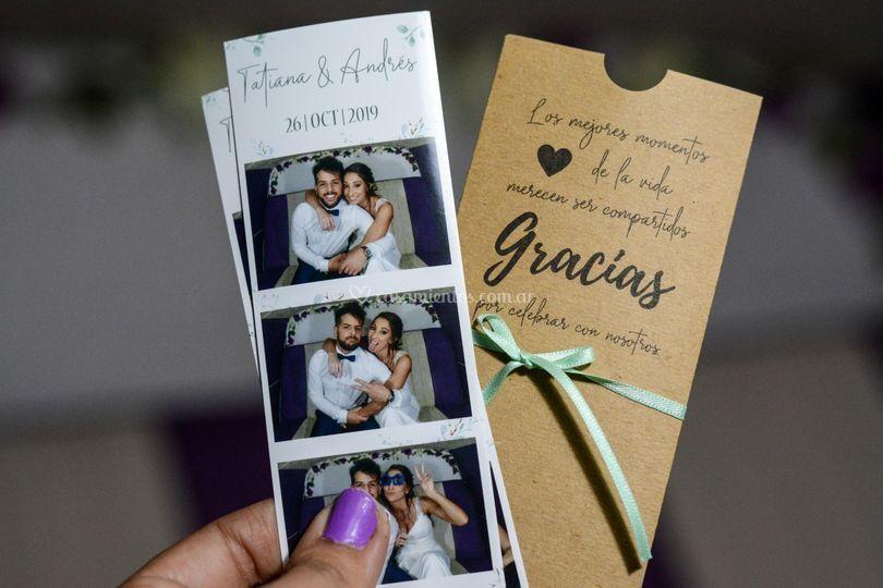 Fotos + sobres personalizados