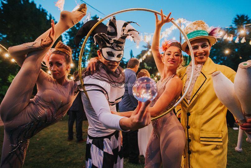 Artistas de circo