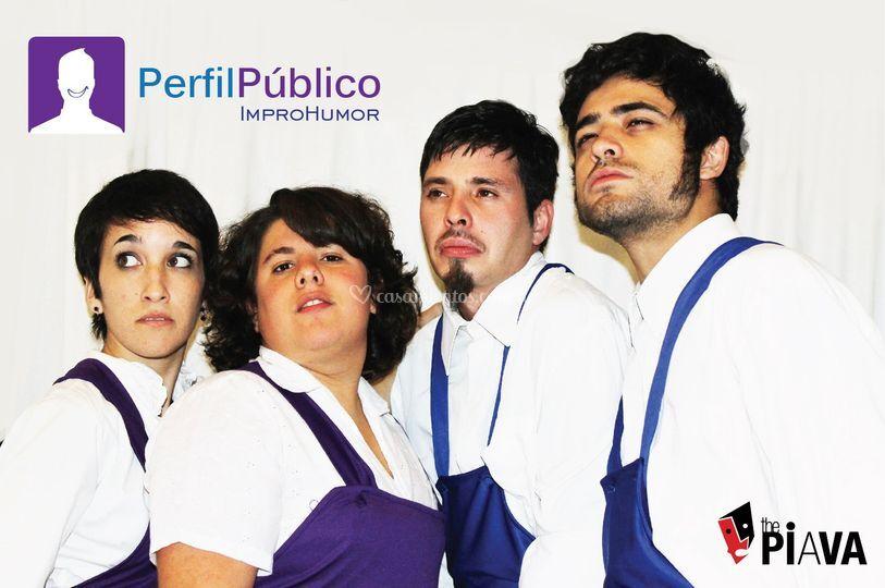 Actores Perfil Público