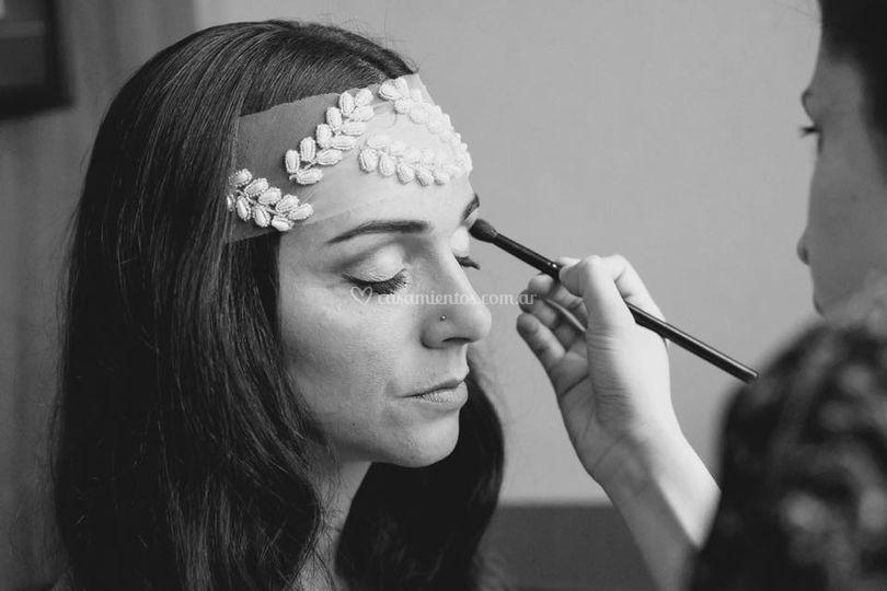 Maquillaje de novia, Manuela