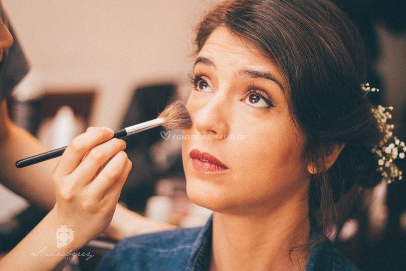 Maquillaje de novia, Araceli