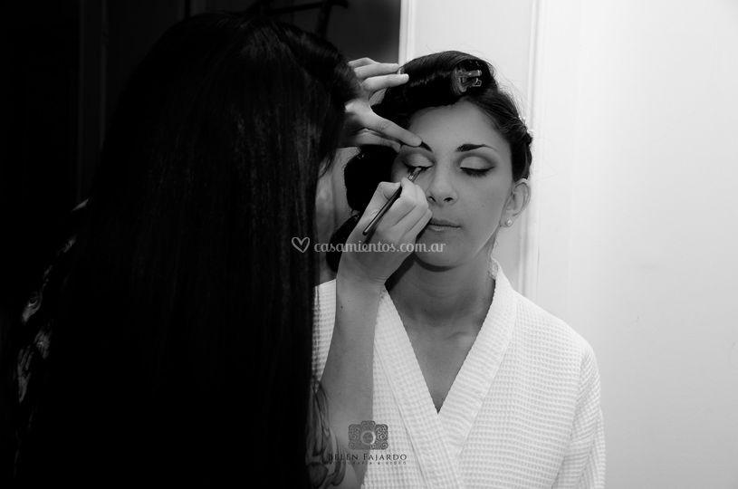 Maquillaje de novia, Ivana