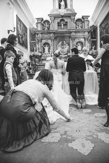 Casamiento en Santa Catalina