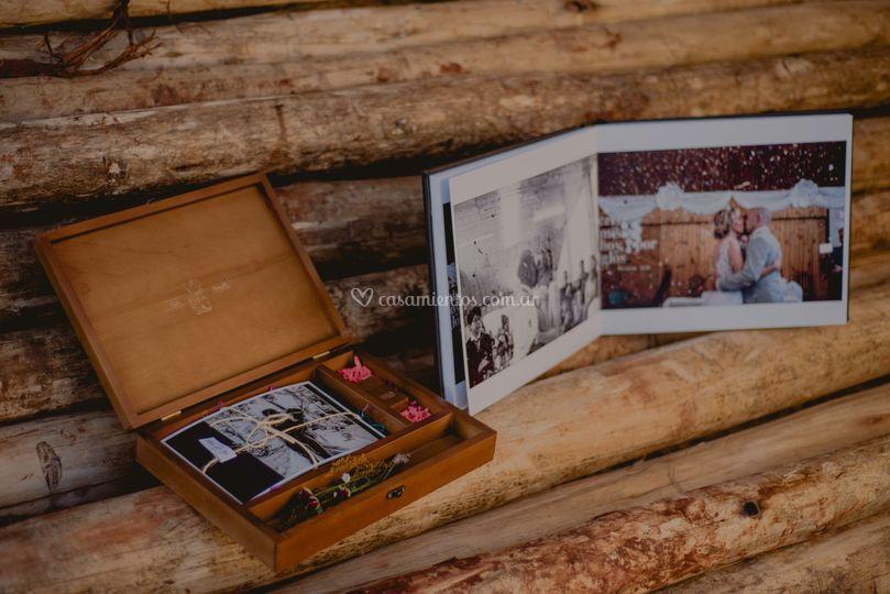 Entrega de Caja y Fotolibro