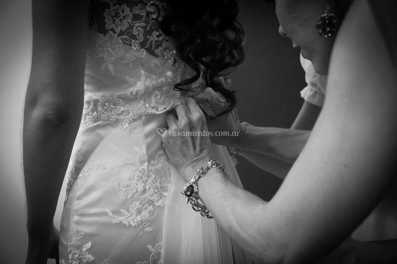 Vetsido de la novia
