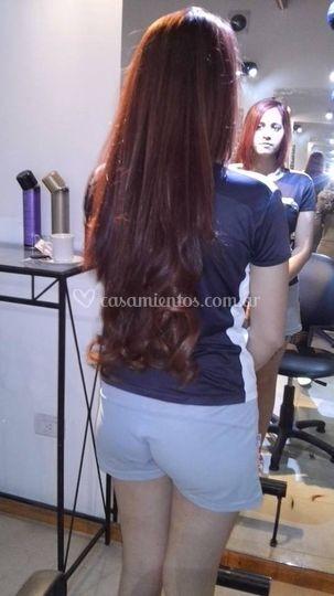 Peinado y color