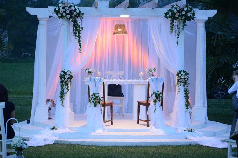Altar romántico