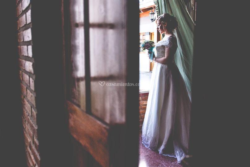 Momento antes de la boda