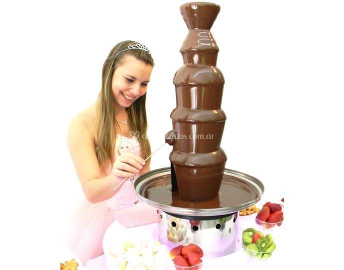 Cascada de chocolate Grande es