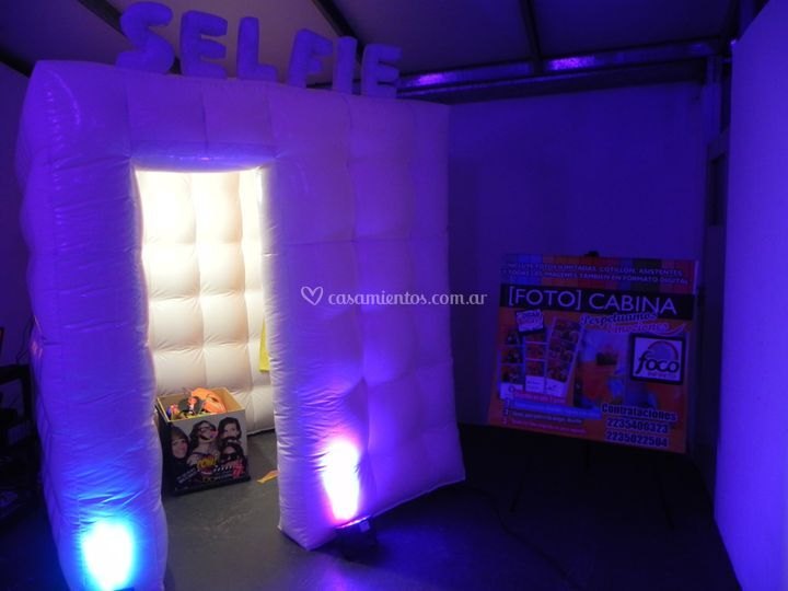 Fiesta Cabina Inflable