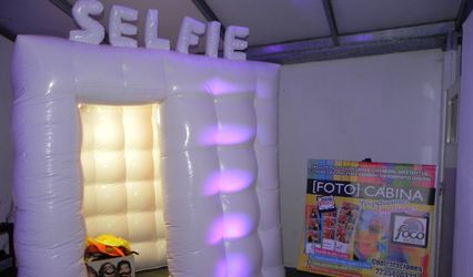 Foco Infinito - Cabina de fotos
