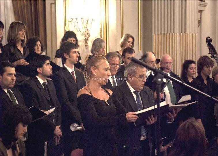 Coro con orquesta y solistas