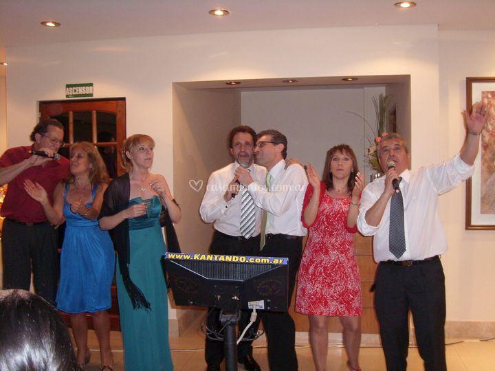Karaoke en casamientos