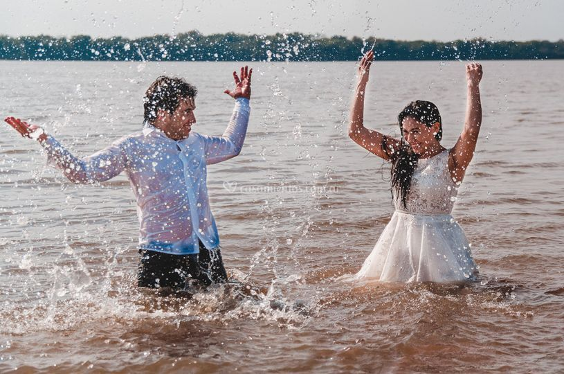 Trash the dress (post-boda)