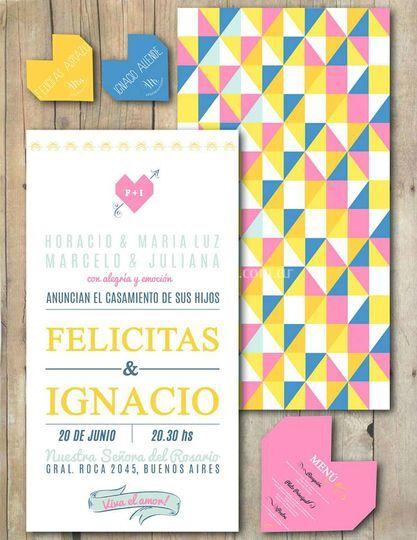 Invitaciones Nacho & Feli