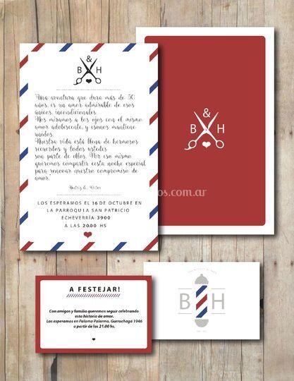 Invitaciones Beatriz & Héctor