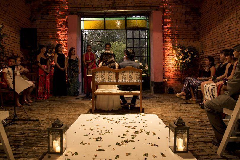 Iluminación ceremonia