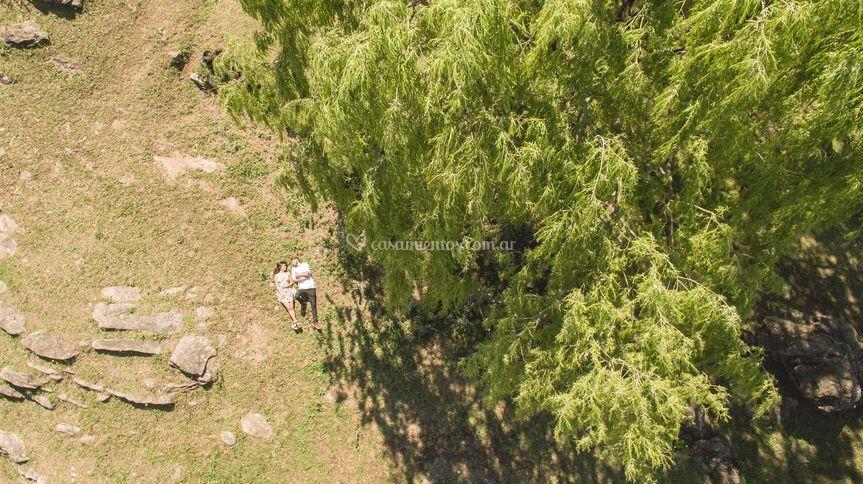 Preboda: tomada con drone