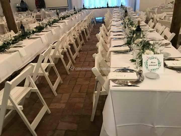 Casamiento mesa principal