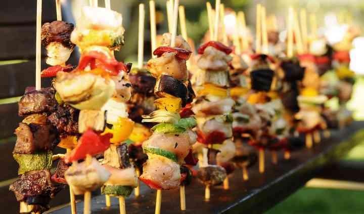Menú para casamiento Finger Food