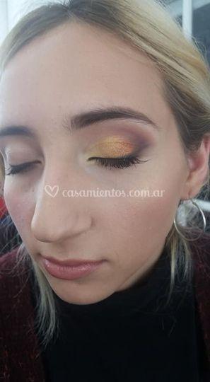 Maquillaje ojo de novia