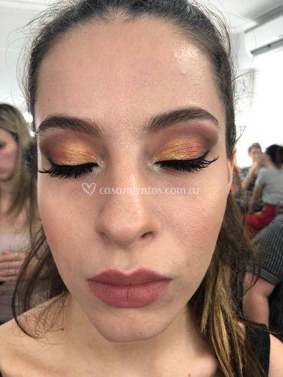 Maquillaje ojos de novia