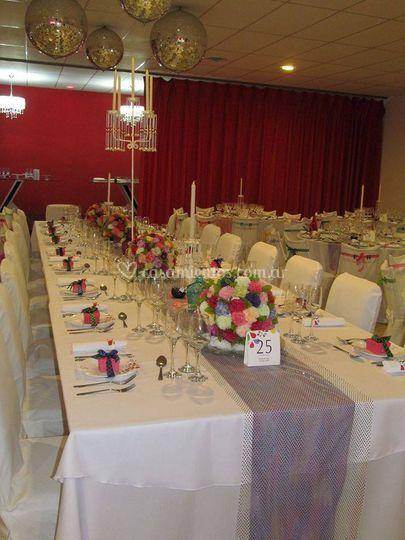 Mesas para casamientos
