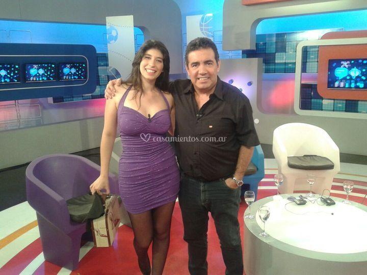Con Diego Perez