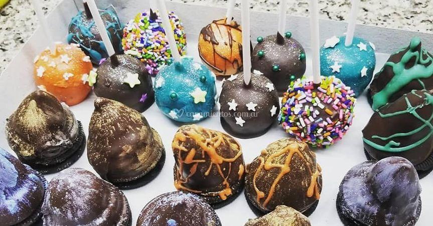 Cakepops y conitos