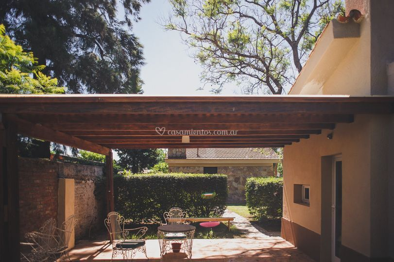 Suite nupcial patio privado