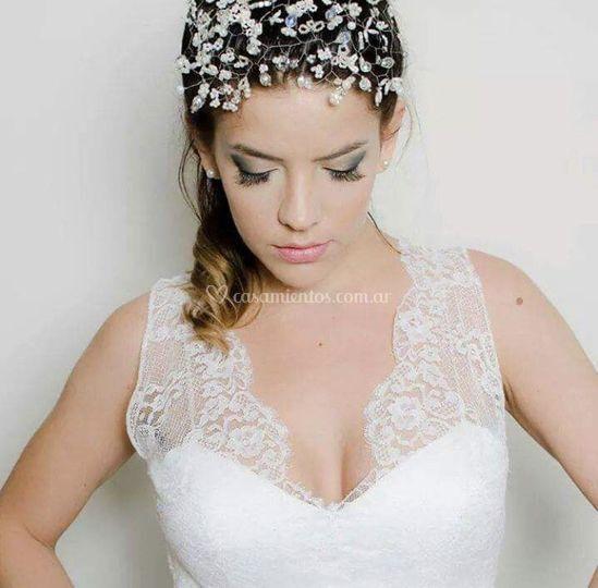 Yanina Bielli maquillaje