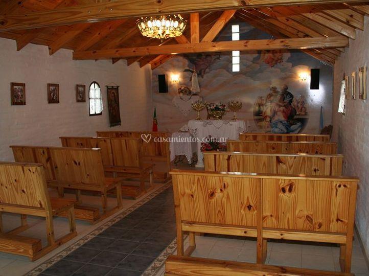 Interior de capilla