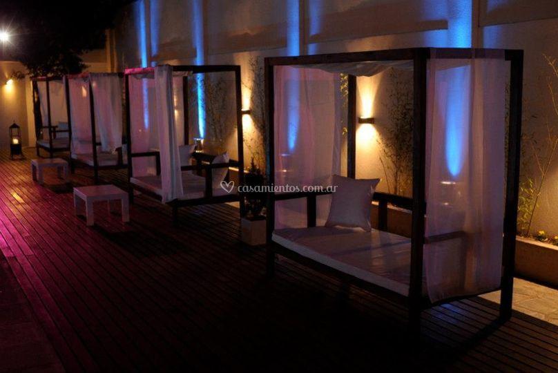 Áreas lounge