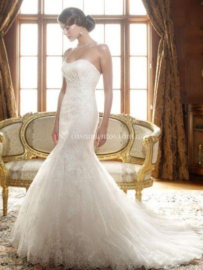 VN1030 Vestido novia