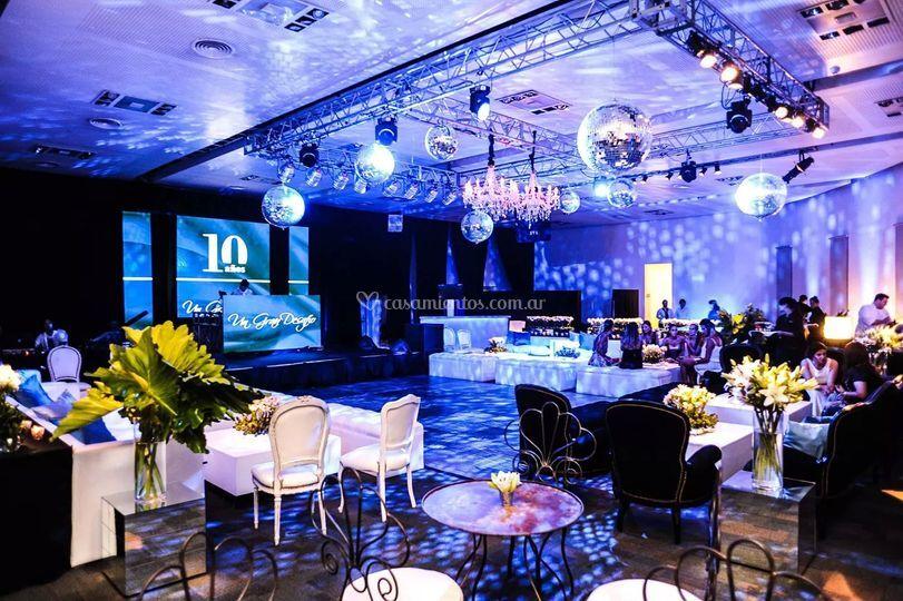 Evento empresarial 10 años