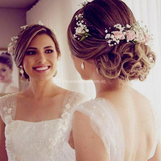 Una novia que impacta