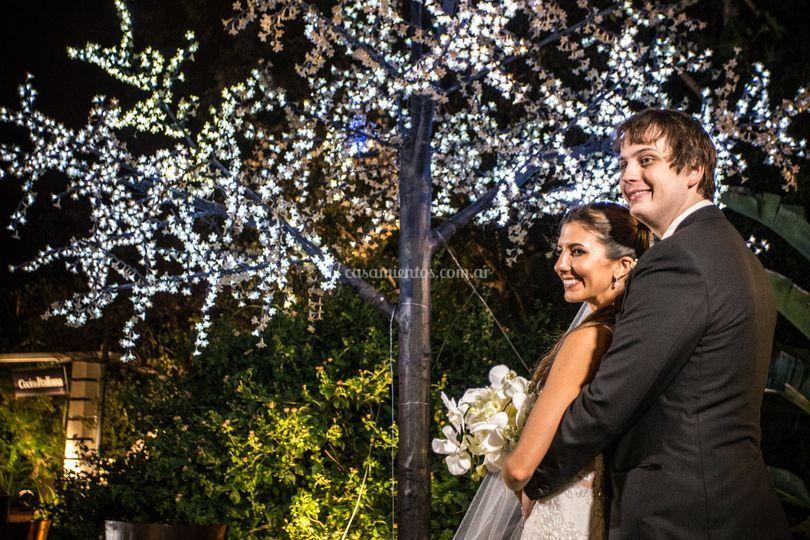 Foto en la boda