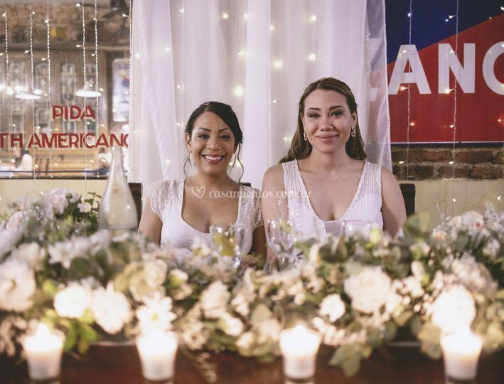 Mesa de las novias