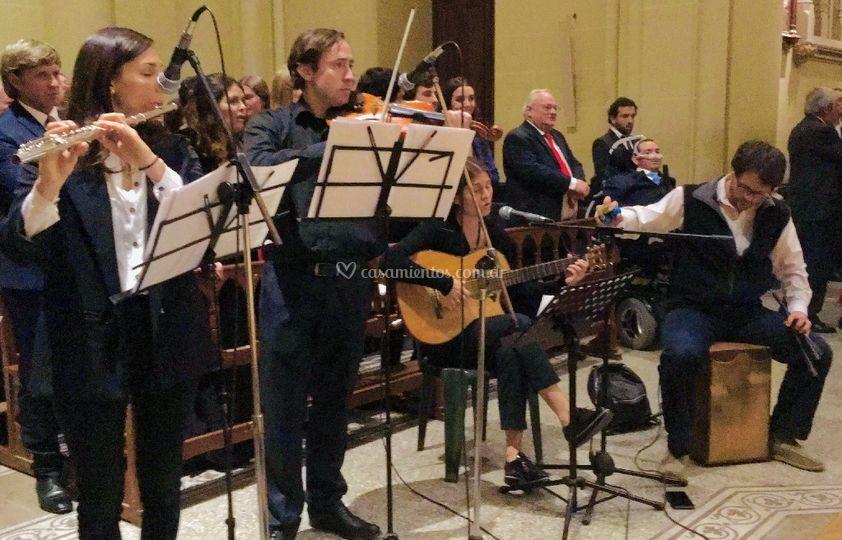 Cuarteto Mix + Violín
