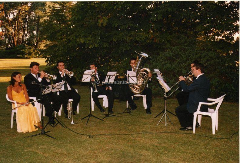 Quinteto de bronces