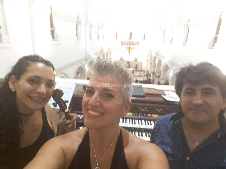 En iglesia