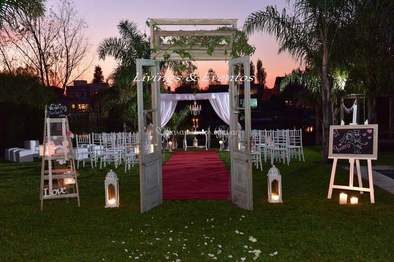 Livings eventos for Ambientacion para bodas