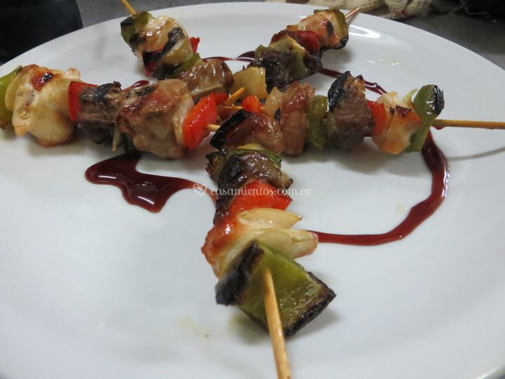 Brochette de evento