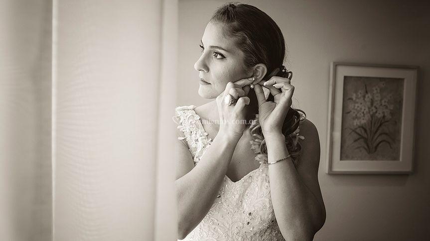 Novia Bride preparativos